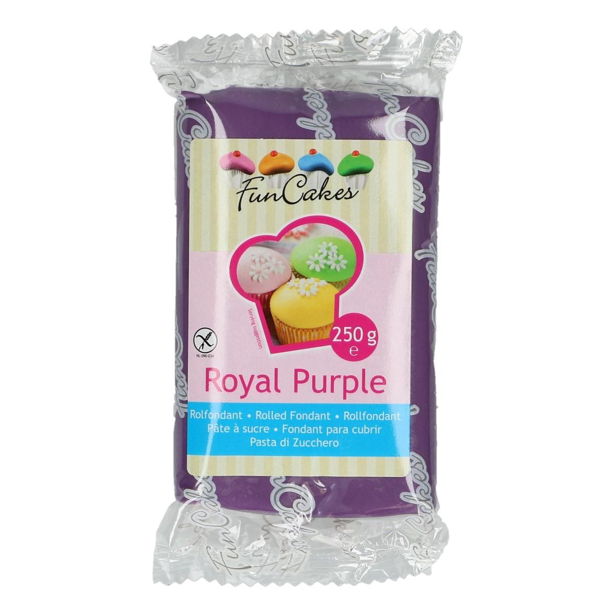 Roll fondant Royal Purple - purpurový 250 g