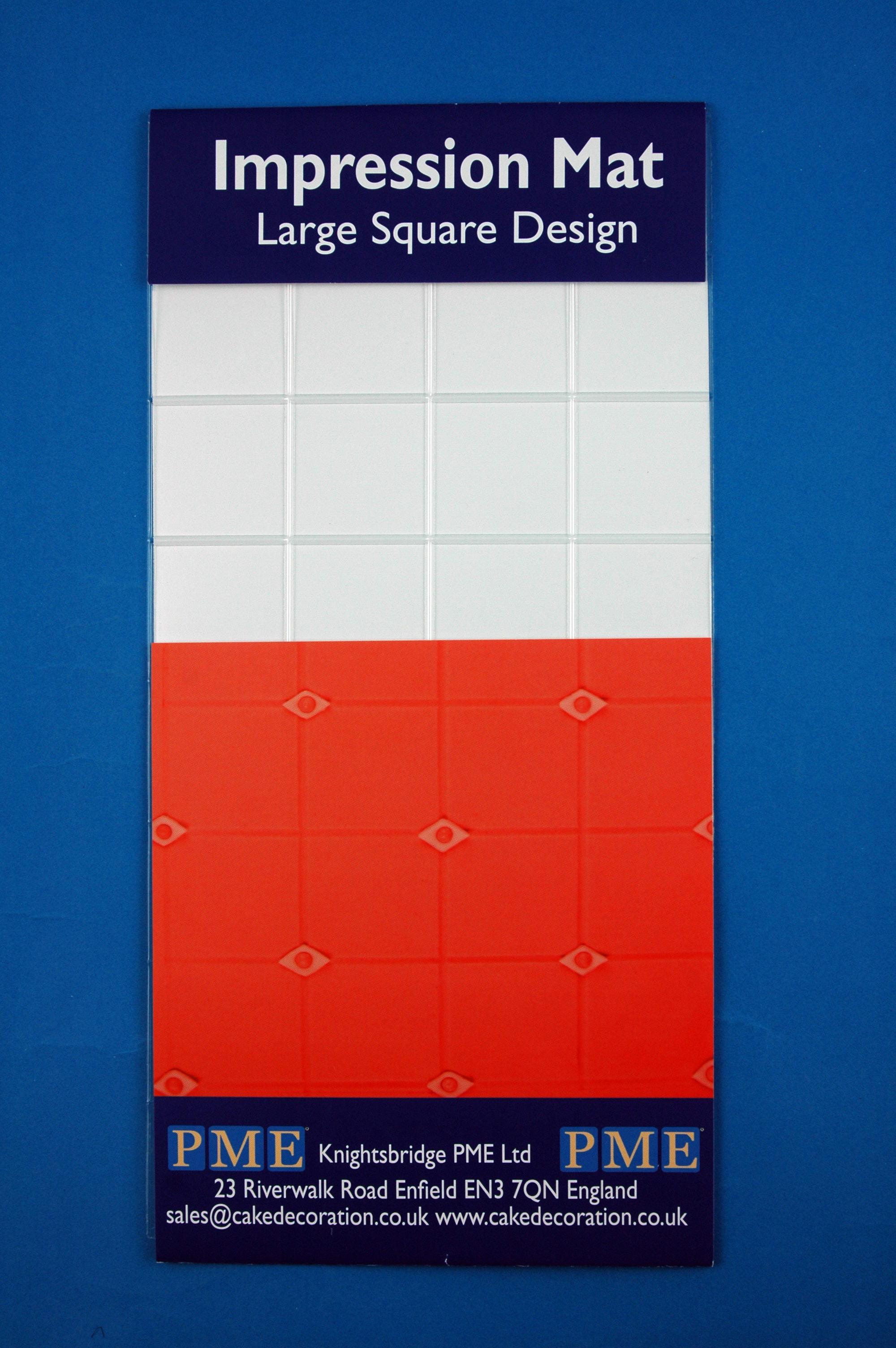 Modelovacia podložka štvorce väčšie