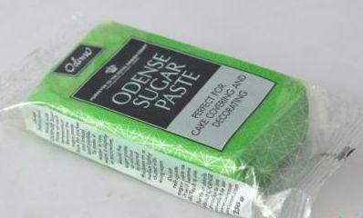 Hmota decor zelená 250 g