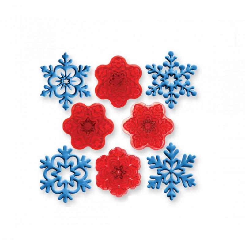 Snehové vločky 102CI016 4 ks