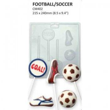 Formičky na čokoládu futbal