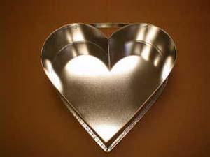 Forma srdce veľké 31 cm