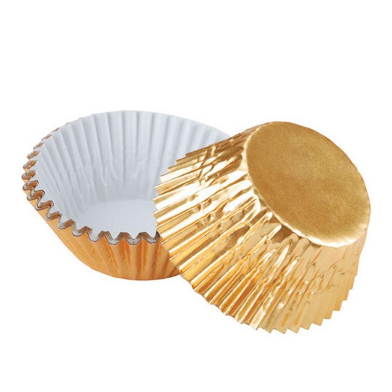 Košíčky na pralikny zlaté 200 ks