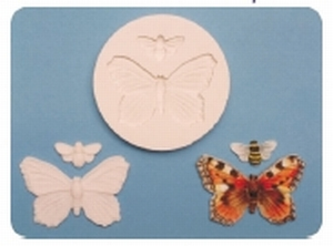 Forma na marcip.Butterfly & Bee