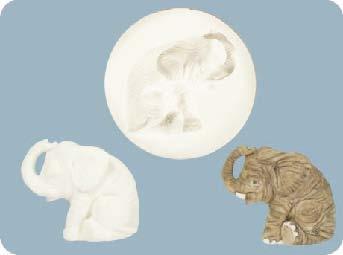 Formička na mar. Elephant BO17