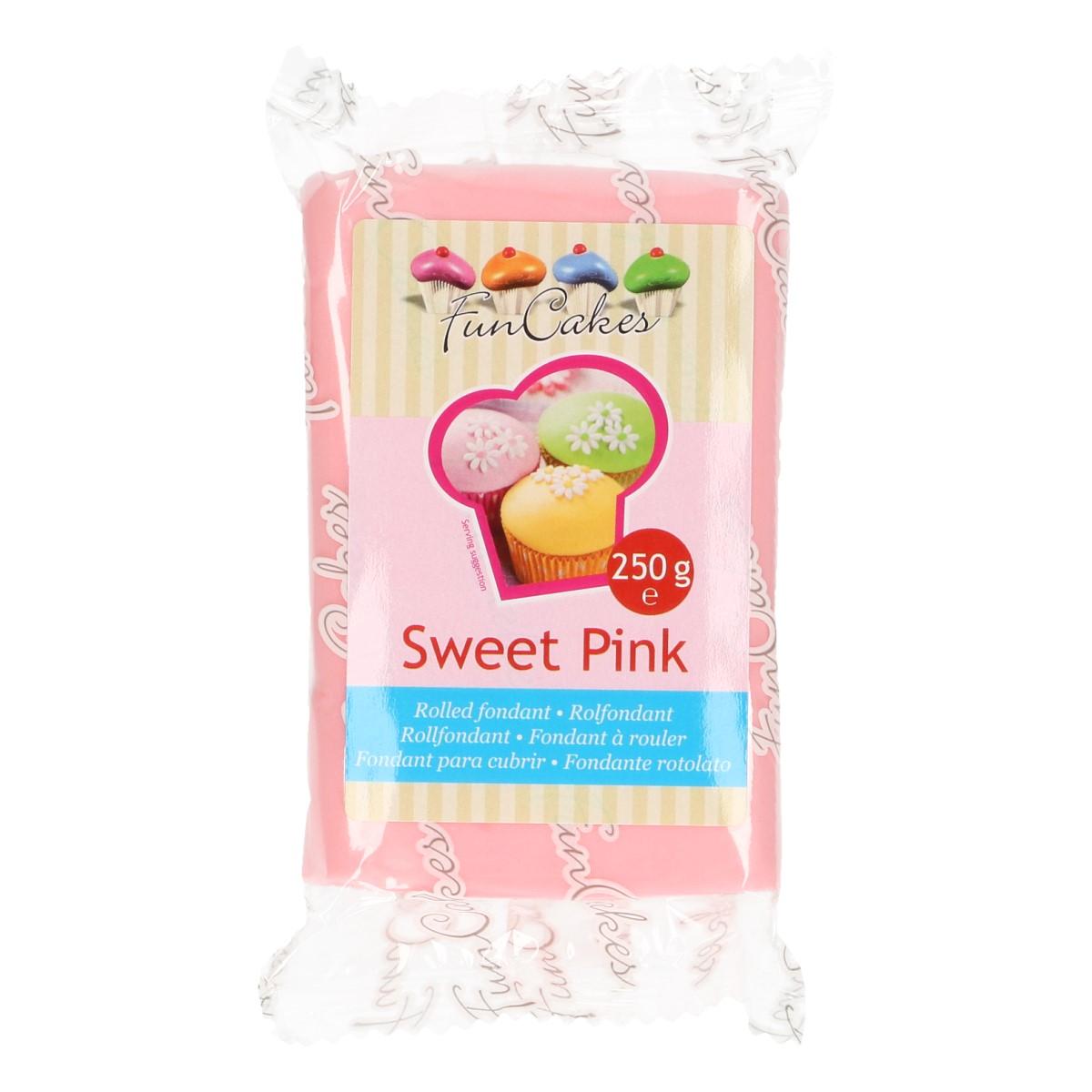 Roll fondant Sweet Pink - cukríkovo ružový 250 g