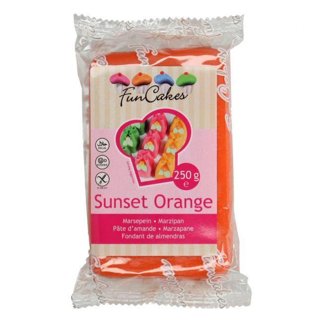 Marcipán Sunsed Orange - oranžový 250 g