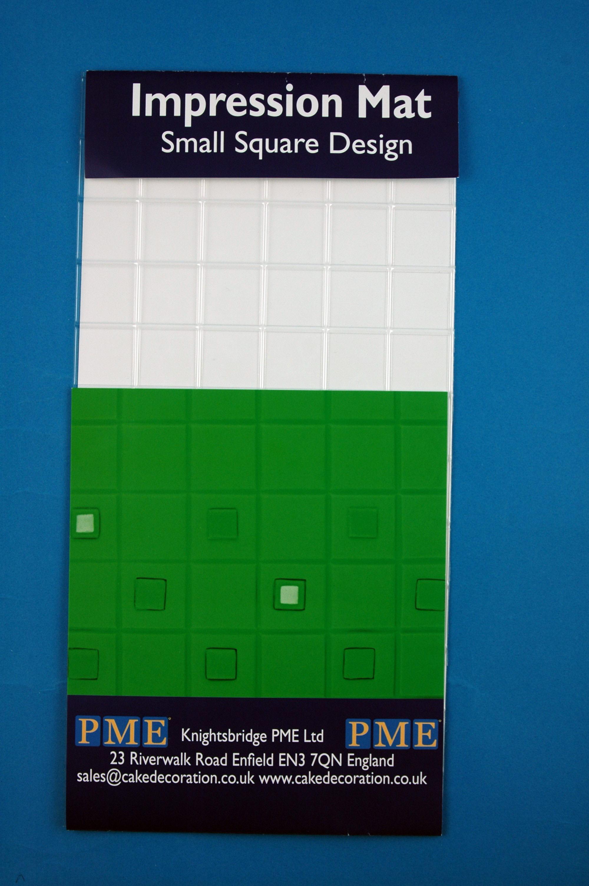 Modelovacia podložka štvorce malé