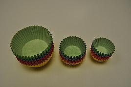 Košíčky farebné 2,5x1,8cm / 200ks