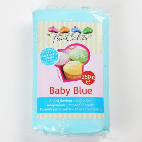 Roll fondant Baby Blue, modrý  250 g