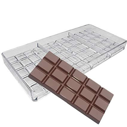 Polykarbonátová forma na 3ks tabuľkovej čokolády