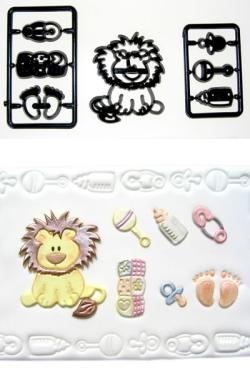 Patchwork - Baby Lion / Nursery Items