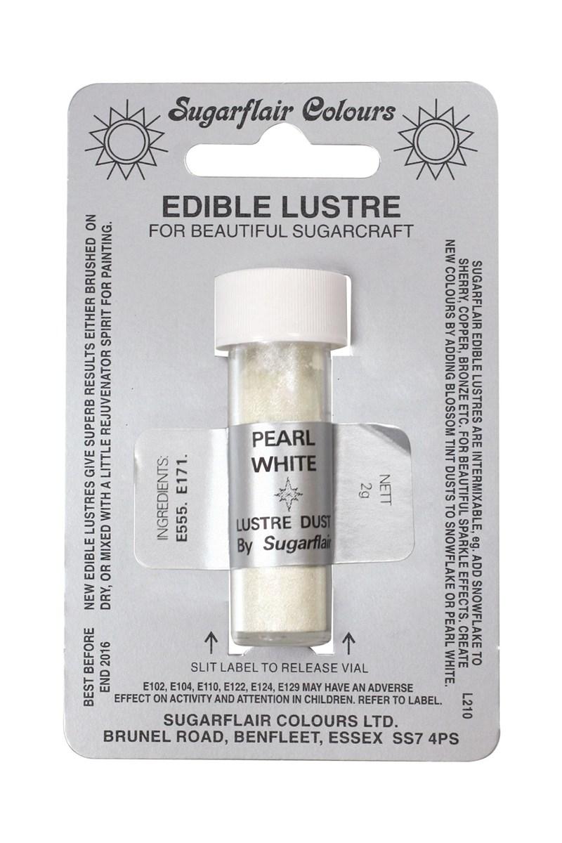 perleťová farba - biela perleť/pearl white/