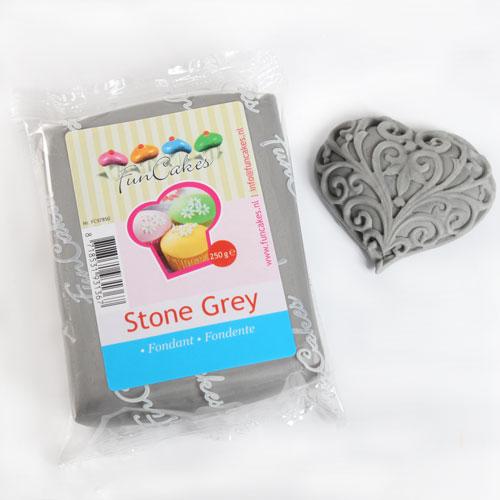 Fondant Stone Grey -  šedý  250g.