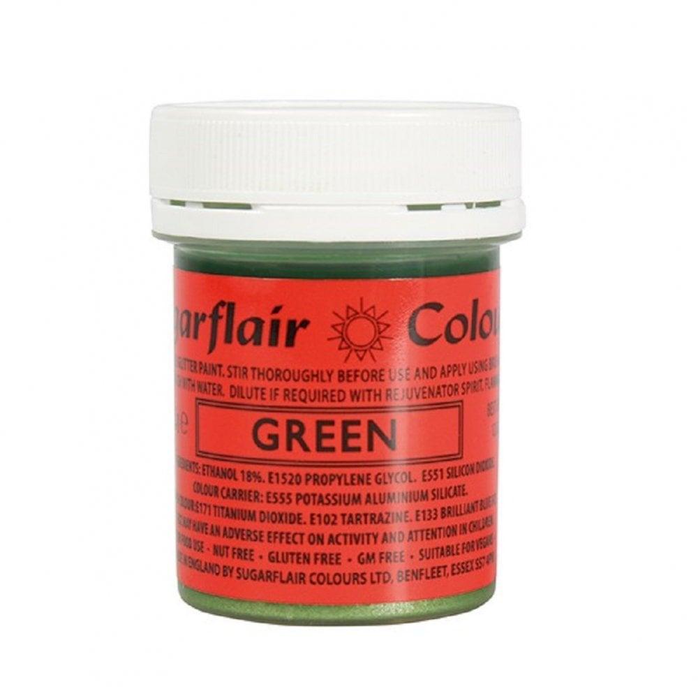 Farba na priame maľovanie Gliter Paint  Green-zelená 35g