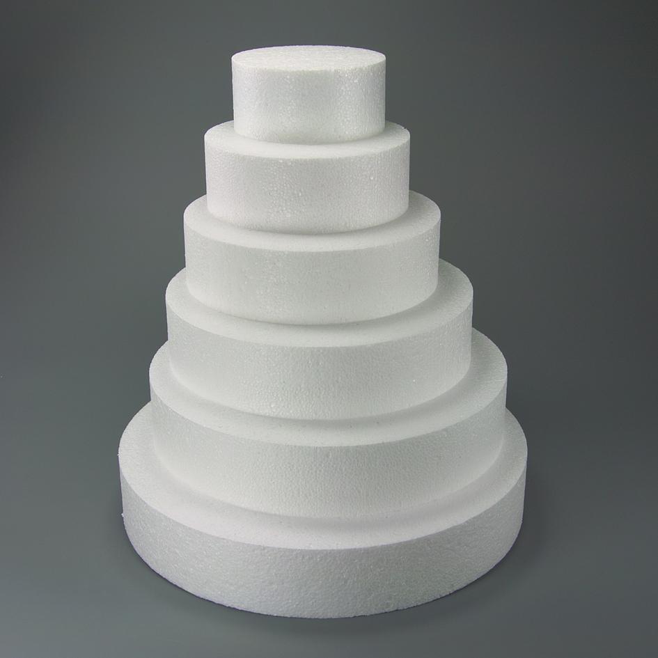 Polystyrénová atrapa kruh 250 mm