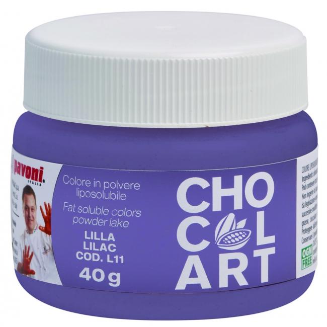 Práškova farba do čokolády fialová 40 g