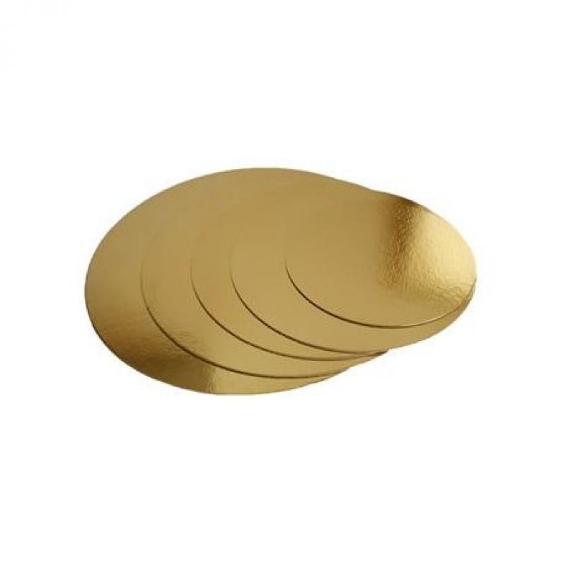 Podložka zlatá  kruh priemer 38 cm