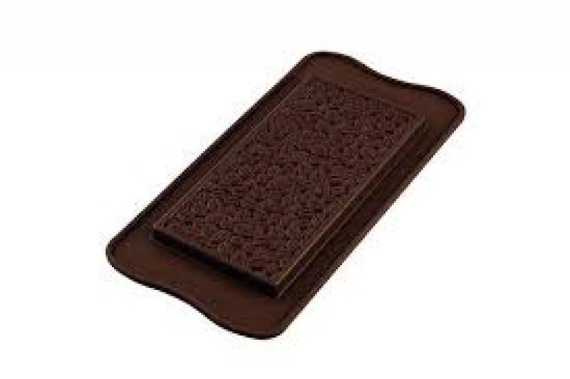 Silikonová formička na čokoládu vzor káva