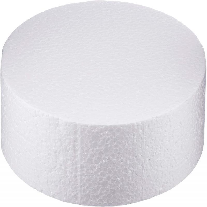 Polystyrenová atrapa priemer 17 cm, výška 7,5 cm