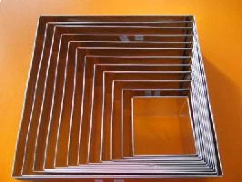 Forma ráfik štvorcová 30x30 cm