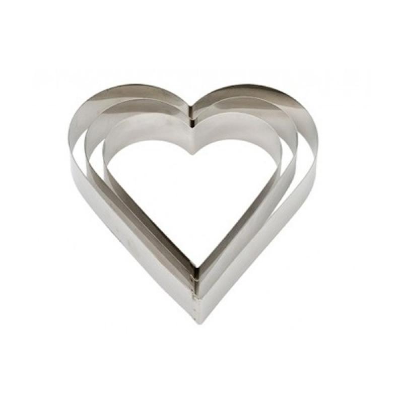 Forma ráfik srdce stredné