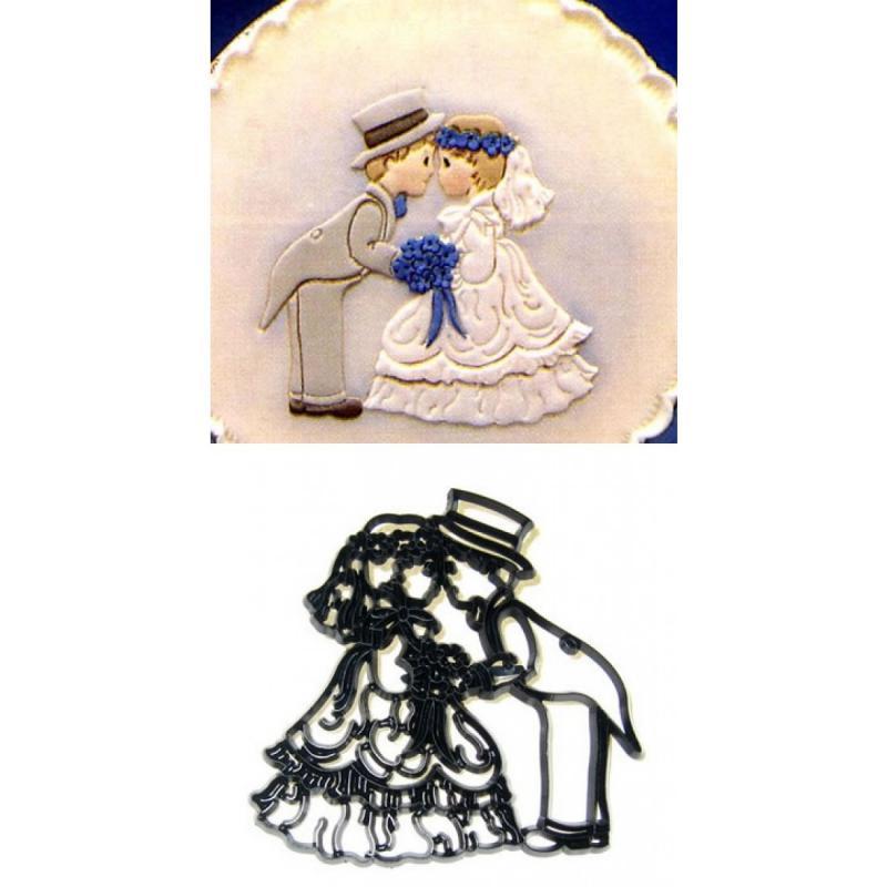 Patchwork - Bride and Groom
