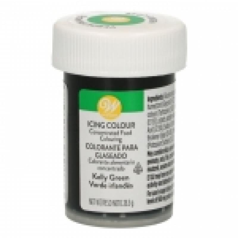 Gélová farba Wilton Kelly green zelená 28,3 g